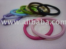 10 pcs colorful hair band - Getah rambut