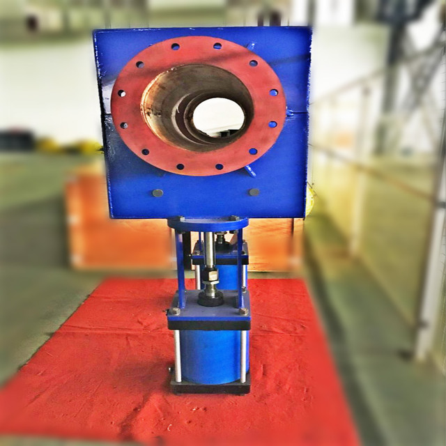 DN100mm Standard Pressure Air Operated Pinch Valve For Mine & Chemical Industry Which is Durable and Corrosion Resitence ISO