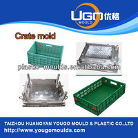 box crate of injection plastic mould buyer with PP material