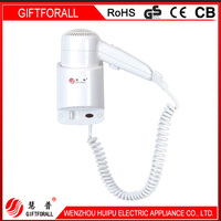 shave socket and hotel hair dryer wholesale wall mounted ion hotel hair dryer