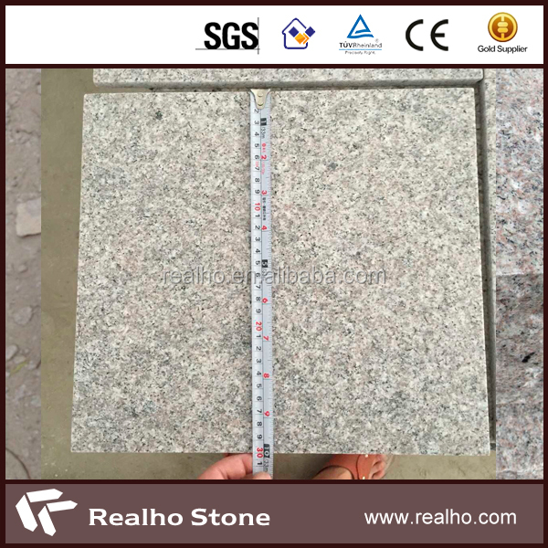 Flamed Surface Pink G617 Granite for Paving Tile