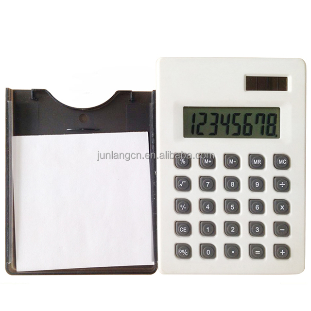 8 Digit Calculator with note book and ball pen for promotion gifts