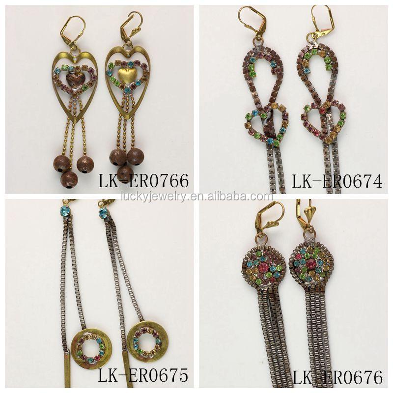 Fashion New Style Earrings Hanging Tanishq Diamond Earrings ...