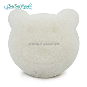 Private Label Organic Facial And Body Bathroom Cleansing Makeup Remover Moisturizer Konjac Sponge