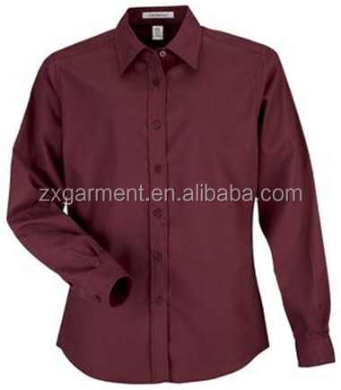 Blouse chimie woman blouse 2017 long sleeve office shirt
