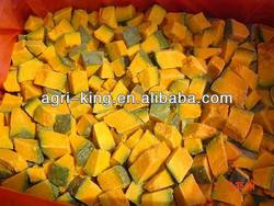 IQF Pumpkin Chinese Fruits And Vegetables