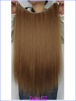 Cheap Brazilian Hair Flip in Extensions Human Remy Hair Halo Hair Top Quality Fish Line Hair Extensions