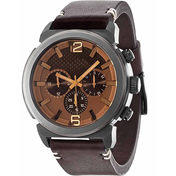 OEM LOGO Stainless steel case chronograph make custom oem man watch