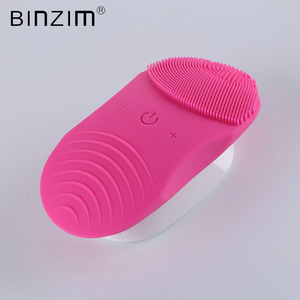 Waterproof IPX7 Rechargeable Body Massage Cleansing Brush System, Electric Sonic Face Facial Massager and Cleanser Brushes