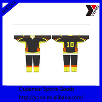 Latest design cheap ice hockey wear jersey wholesale for practice
