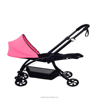 convenient baby pram explosion-proof wheel artistic fashional design controled strictly standards pass EN1888:2012 light pram