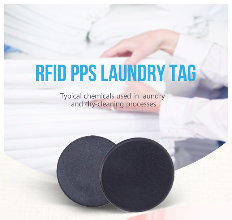 Tamper Proof NFC RFID PPS Button Clothes Laundry Tag