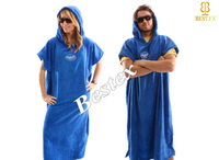Surf Adult Couple Cotton towelling Beach robe Changing towel