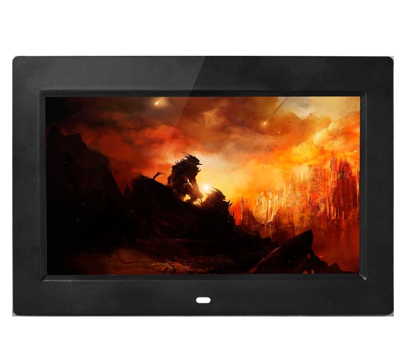 Mini pas cher 7 pouces cadre photo numérique mp3 vidéo téléchargement gratuit cadre photo - ANKUX Tech Co., Ltd