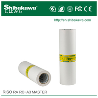 Digital printing master roll Riso RA/RC A3 for risograph