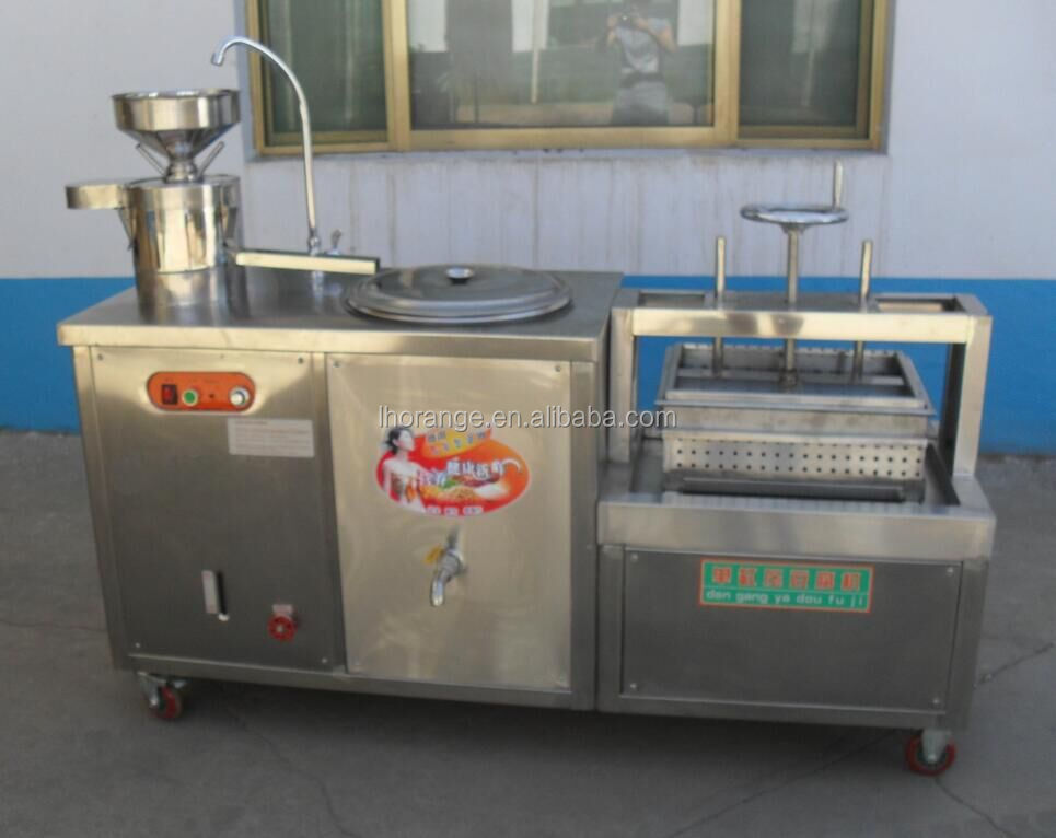 Electric soya milk tofu making machine/Tofu Forming Machine/soya bean curd machine