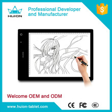 Portable!Huion LB4 LED light pad light box tattoo tracing board drawing board for original painting