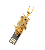 Jewelry Owl Gift USB Flash Memory Stick Pendrive