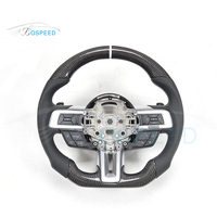2016 most popular Carbon Fiber Steering Wheel racing car wheel For Mustang