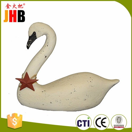 Home & Garden Decoration Resin Animals Swan Frigunes