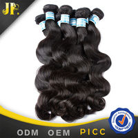 jp luxury hair natural color unprocessed indian remy hair extensions california
