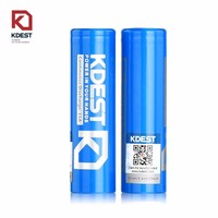 Powerful Mechanical Mod 18650 3000mah 3.7v 30A Lithium Flat Rechargeable Battery For Strong Flashlight