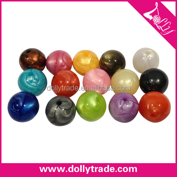 Factory Wholesale Fashionable Pearly-lustre Beads Crystal Plastic Beads Seed Beads Used for Jewelry Making