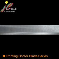 Plastic ink doctor blade for flexo printing