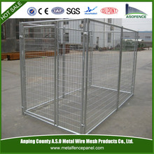 6x10x6 welded wire mesh double dog kennel