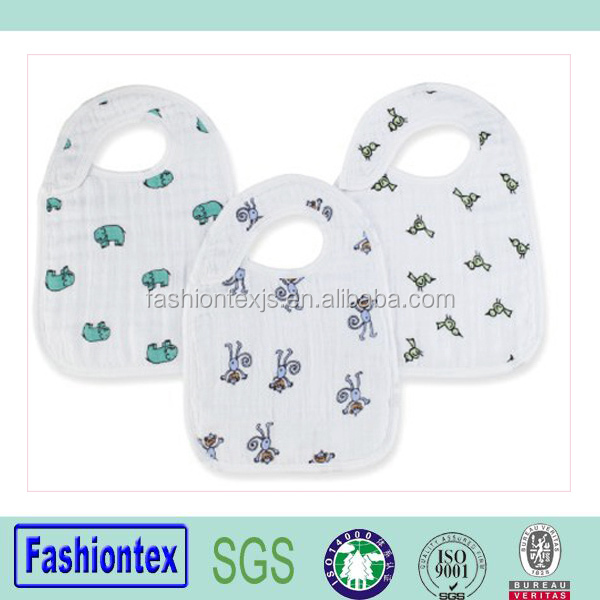 High quality waterproof bib baby infant toddler drool bib custom bamboo bibs