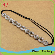 Newest hot selling fashion popular Simplicity Wool weaving hair band/headband/hair accessories