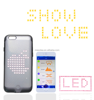 Hot crazy smart phone cover,calling incoimg LED light up case for cell phone