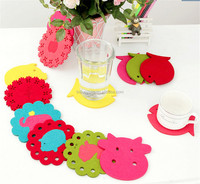 Beautiful felt pad for chair anti-slip pad clear acrylic drink coasters