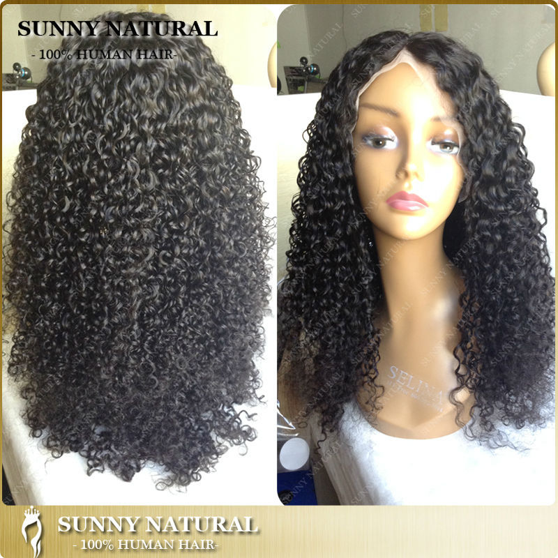 100% human hair natural curl wholesale alibaba cheap human hair full lace wigs in stock