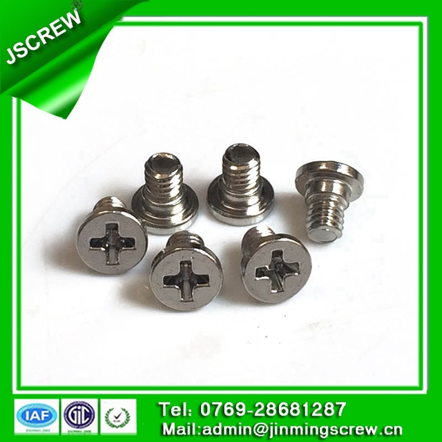m4 stainless steel philips step head screw for automobiles