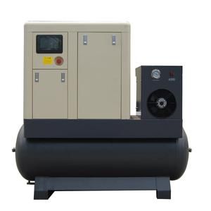 T-20HP TD VSD 11KW tank mounted screw air compressor with promote price