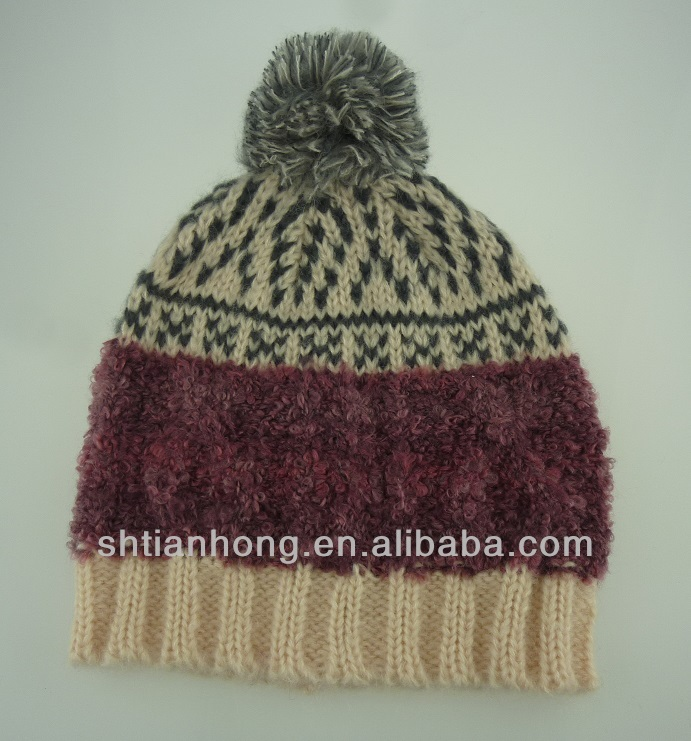knitted fashion cheap winter hats for women