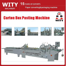 High Speed Box Folding and Gluing Machine