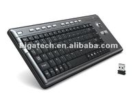 Newwest 2.4G Mini wireless Touch Screen microsoft Keyboard