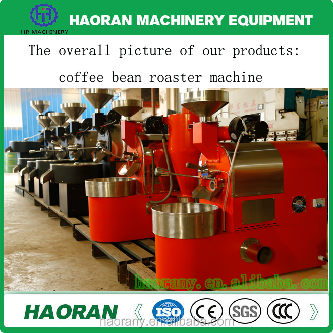 HAORAN 1KG 3KG 6KG 10KG 15KG 30KG 60KG 120KG coffee roaster / coffee bean roaster machine