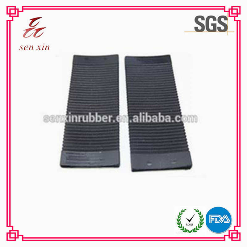 rectangular flexible rubber bellow