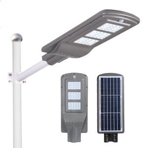 Flyinglighting High lumen Integrated remote control ip65 outdoor waterproof 20w 40w 60w all in one led solar street light