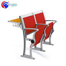 Red Folding Student Desk Chair With Table