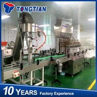 cooking oil filling machine vegetable oil bottle filling line and system