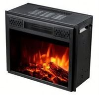 TUV Available Competitive Price round fireplace insert