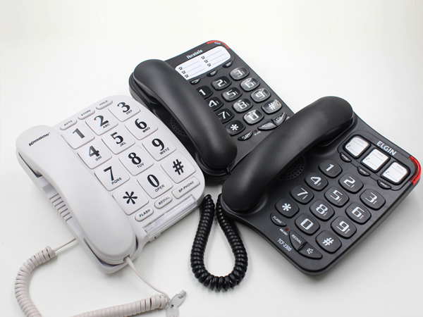 Big button landline telephone/big keyboard telephone for elderly people