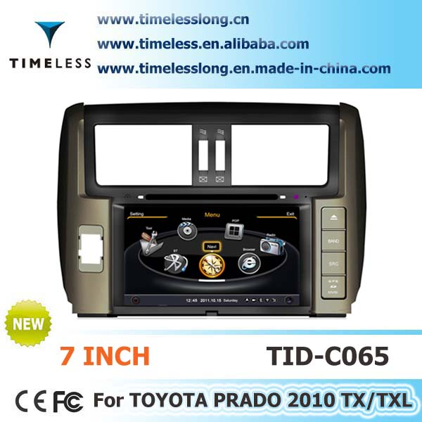 S100 Car DVD Sat Navi for Toyota prado 2010 year with A8 chipest, bluetooth, sd, ipod, 3g, wifi