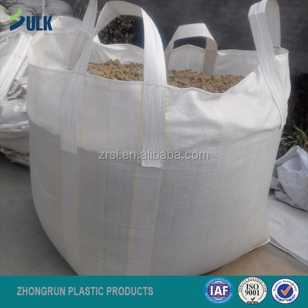 Polypropylene material and recyclable feature big bags for sand packaging