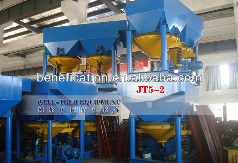 Professional manufacturing metal ore jig machine in stock