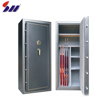 High quality cheap mechanical lock gun safes cabinets for sale